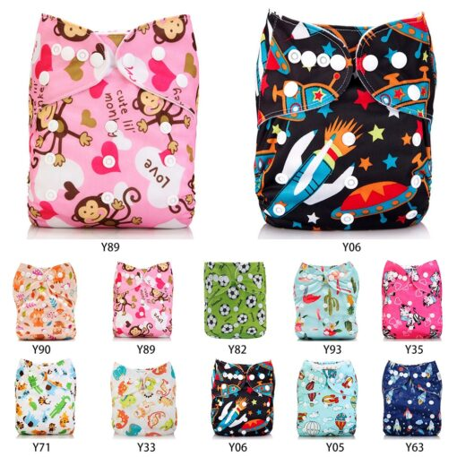 Ecological Diapers Eco friendly Diaper Cover Wrap Washable Diapers Couches Lavables Baby Nappy Reusable Nappy Baby