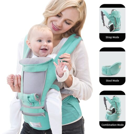 Ergonomic Baby Carrier Infant Kid Baby Hipseat Sling Front Facing Kangaroo Baby Wrap Carrier for Baby 1