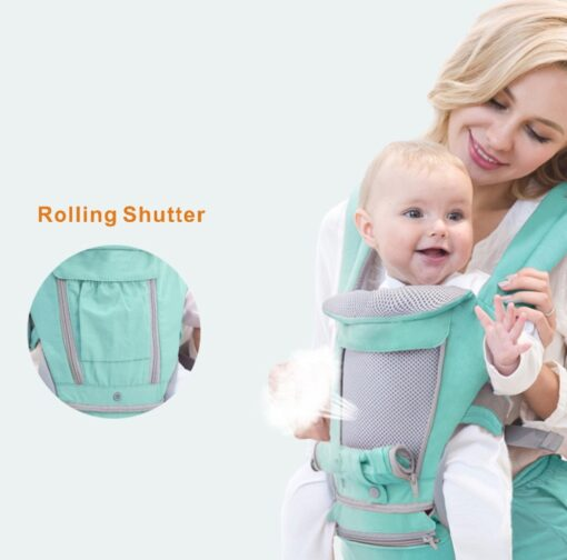 Ergonomic Baby Carrier Infant Kid Baby Hipseat Sling Front Facing Kangaroo Baby Wrap Carrier for Baby 4