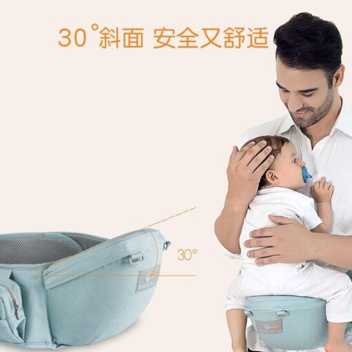 Ergonomic Baby Carrier Sling Wrap Waist Stool Porte Cangurera BackpacK Multifunctional Kids Accessories Hipseat Newborn 1