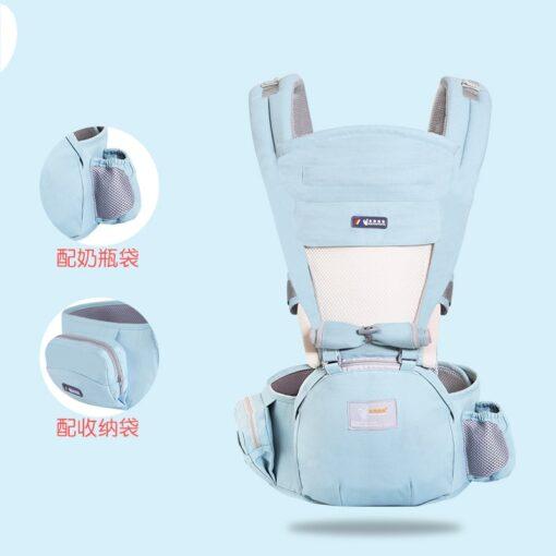 Ergonomic Baby Carrier Sling Wrap Waist Stool Porte Cangurera BackpacK Multifunctional Kids Accessories Hipseat Newborn 2