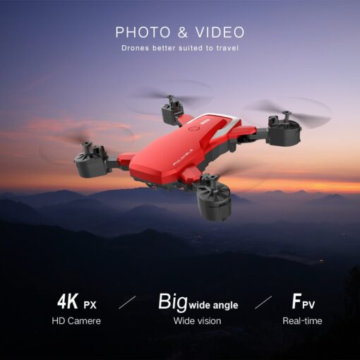 F85 RC Drone 4K HD Camera Professional Aerial Photography Helicopter 360 Degree Flip Foldable Quadcopter 2