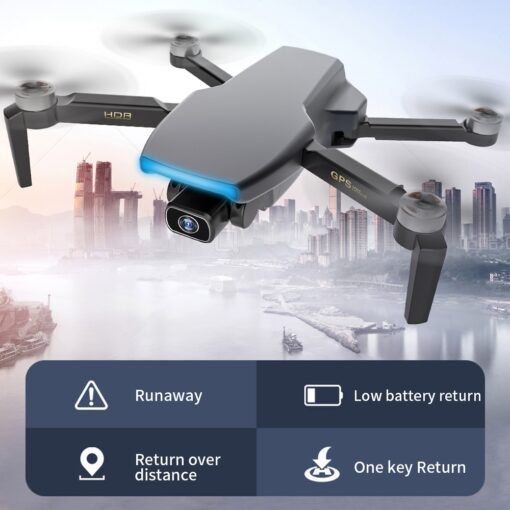 FEMA S3 GPS Drone With Camera 4k HD 5G WiFi dron Brushless FPV drone 25mins rc 1