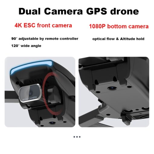 FEMA S3 GPS Drone With Camera 4k HD 5G WiFi dron Brushless FPV drone 25mins rc 4