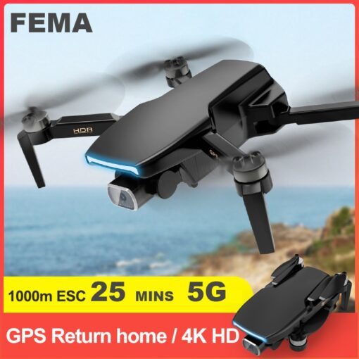 FEMA S3 GPS Drone With Camera 4k HD 5G WiFi dron Brushless FPV drone 25mins rc