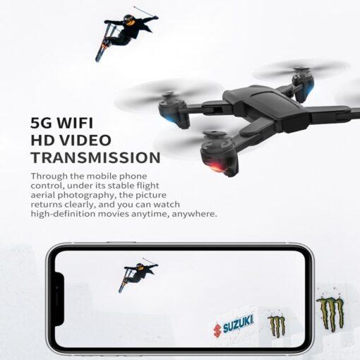 FEMA SG701 SG701S RC GPS Drone with 5G WiFi FPV 4K Dual HD Camera Optical Flow 2