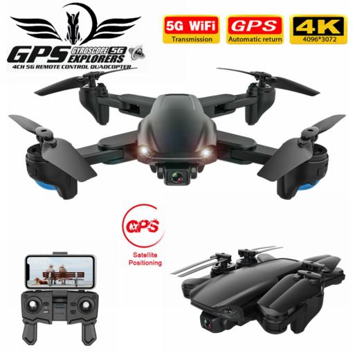 FEMA SG701 SG701S RC GPS Drone with 5G WiFi FPV 4K Dual HD Camera Optical Flow