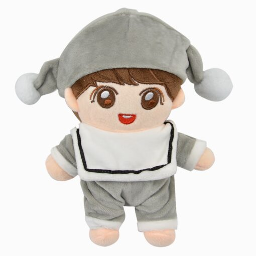Fashion Korea Cartoon Plush Dolls Toys Plush Stuffed Doll Superstar Cute With Clothes Toy Gifts Collection 5