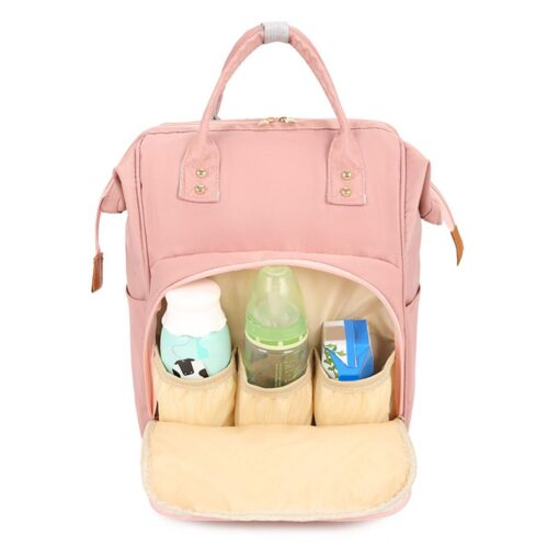 Fashion Mommy Bag Backpack High Quality Diaper Bag Waterproof Baby Nappy Bags Travel Baby Stroller Bag 2