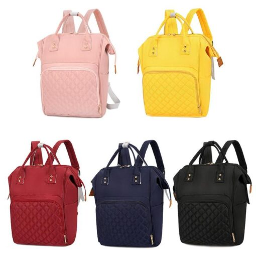 Fashion Mommy Bag Backpack High Quality Diaper Bag Waterproof Baby Nappy Bags Travel Baby Stroller Bag