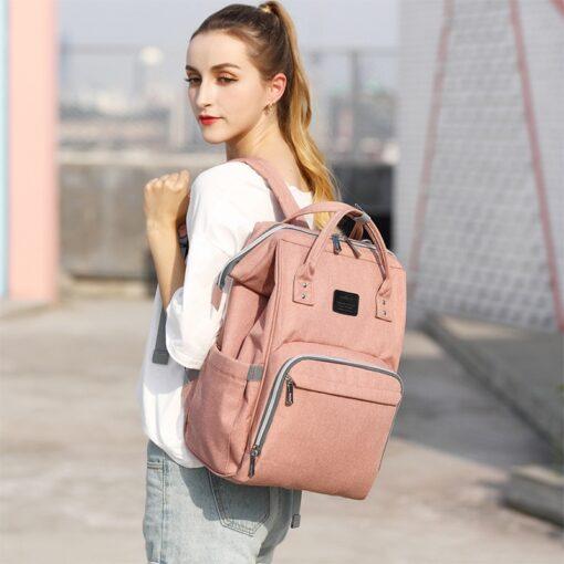 Fashion Mummy Maternity Diaper Bag Large Nursing Bag Travel Backpack Designer Stroller Baby Bag Baby Care 1
