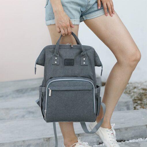 Fashion Mummy Maternity Diaper Bag Large Nursing Bag Travel Backpack Designer Stroller Baby Bag Baby Care 2