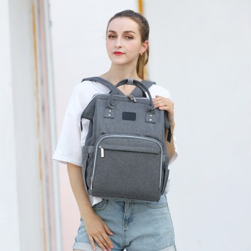 Fashion Mummy Maternity Diaper Bag Large Nursing Bag Travel Backpack Designer Stroller Baby Bag Baby Care 3