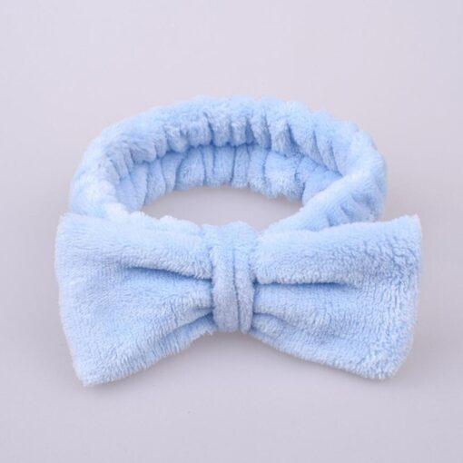 Fashion Velvet Hairband Solid Bow Knot Children Hair Ring Head Hoop Girls Headband Cotton Casual fashionable 2