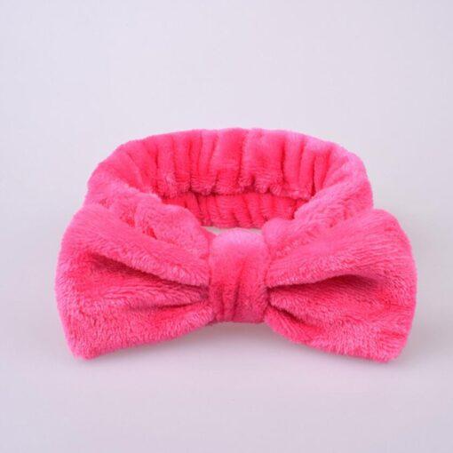 Fashion Velvet Hairband Solid Bow Knot Children Hair Ring Head Hoop Girls Headband Cotton Casual fashionable 3