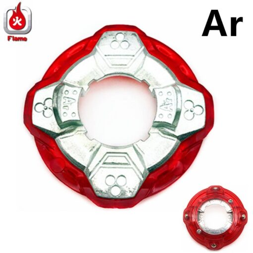 Flame Ar Cn Vn Weight Power Metal Ring for Spinning Top Toys 1
