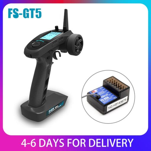 FlySky FS GT5 2 4G 6CH RC Transmitter Remote Controller with FS BS6 Receiver for RC