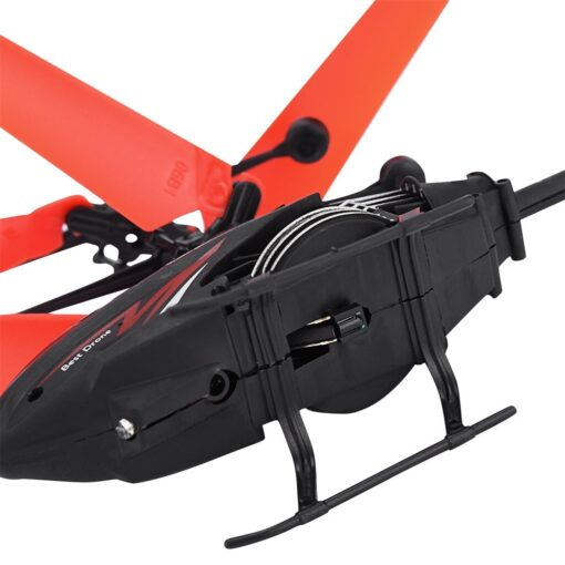 Flying Mini RC Infraed Induction Helicopter Aircraft Flashing Light Toys Gyro Helicopter RC Drone Christmas Gift 4