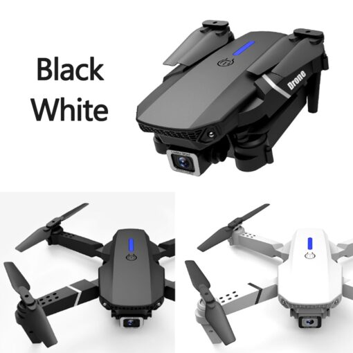 Fold FPV Drone Quadcopter with Camera Dron Professional 4K Drone Height Hold Drone 4K Dual Camera 3