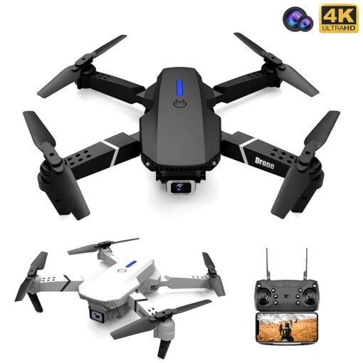 Fold FPV Drone Quadcopter with Camera Dron Professional 4K Drone Height Hold Drone 4K Dual Camera