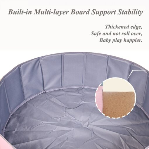 Foldable Dry Pool Infant Ball Pit Ocean Ball Playpen For Baby Ball Pool Playground Toys For 3