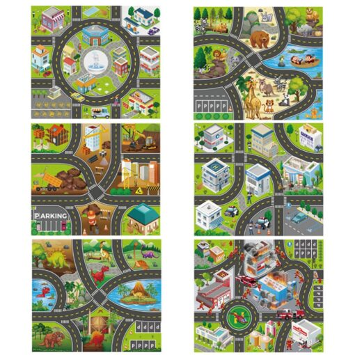 Foldable Kids Play Outdoor Activity Mat Baby Children Crawl Playmat Waterproof Kid Game Activity Rug Play 1