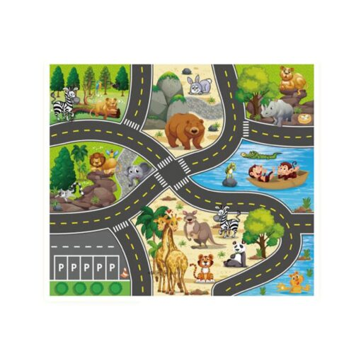 Foldable Kids Play Outdoor Activity Mat Baby Children Crawl Playmat Waterproof Kid Game Activity Rug Play 2