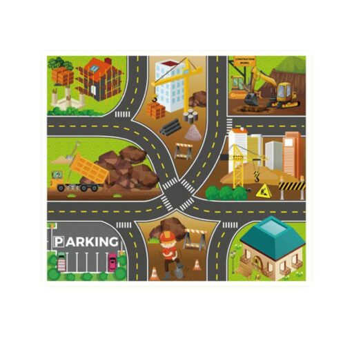Foldable Kids Play Outdoor Activity Mat Baby Children Crawl Playmat Waterproof Kid Game Activity Rug Play 4