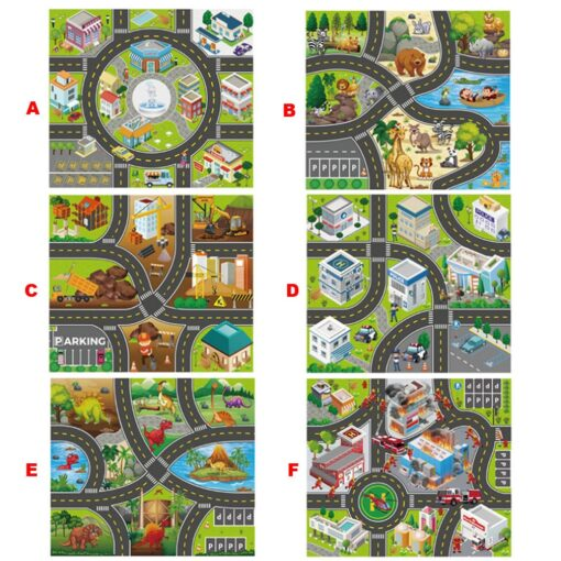 Foldable Kids Play Outdoor Activity Mat Baby Children Crawl Playmat Waterproof Kid Game Activity Rug Play