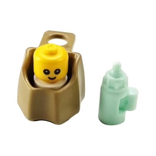 For Creator Friends For Girl City MOC Food Ice Cream Hospital Baby Carriage Figures Building Blocks 4