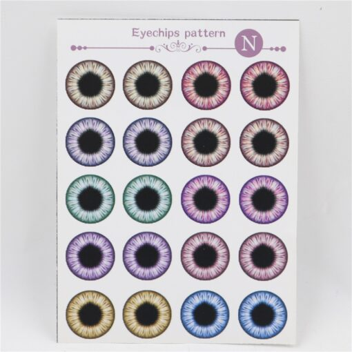Fortune Days Blyth doll icy eyes pupils paper patterns tool uv glue no batteries light 1
