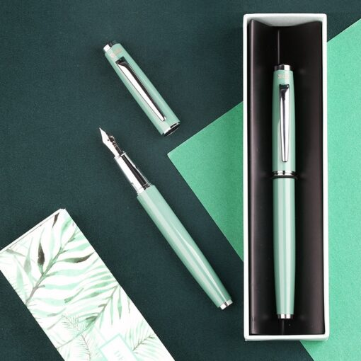 Fountain Pen MOONMAN Colorful EF F Nib Fountain Pens Steel Nibs Student Office Practice Supplies Stationery