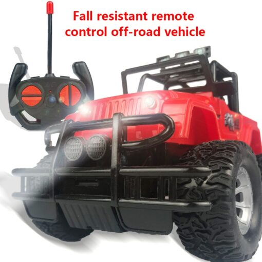 Four way Remote Control Wrangler 1 20 With Light Remote Control Off road Vehicle 2 4GHz