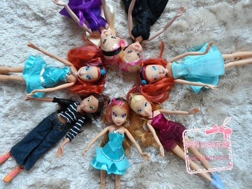 Free Shipping 2019 Winx Dolls For Girls Gift Height 28cm doll accessories 1