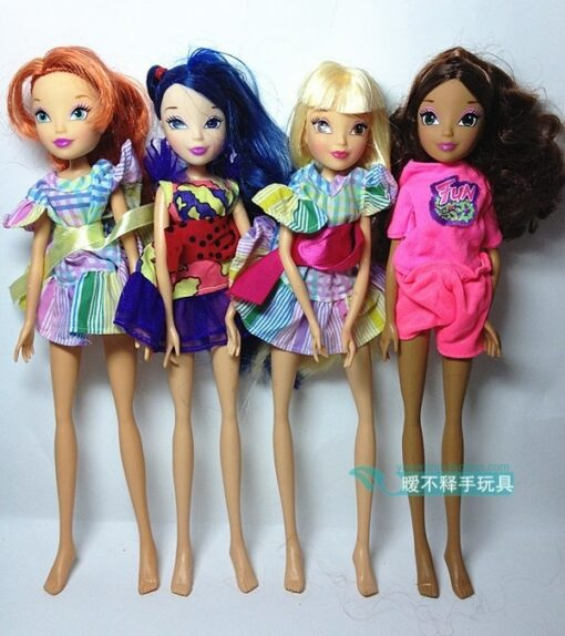 Free Shipping 2019 Winx Dolls For Girls Gift Height 28cm doll accessories 4