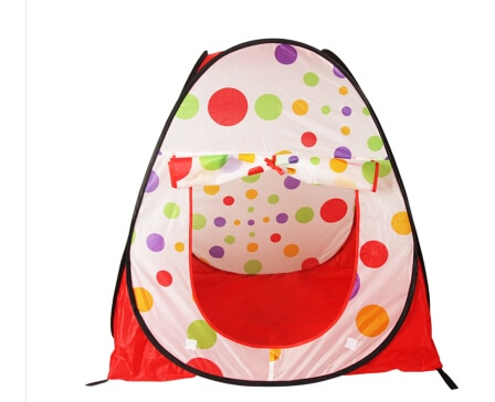Free Shipping Large Portable Foldable Children Kids Pop Up Adventure Ocean Ball Play Tent Indoor Outdoor
