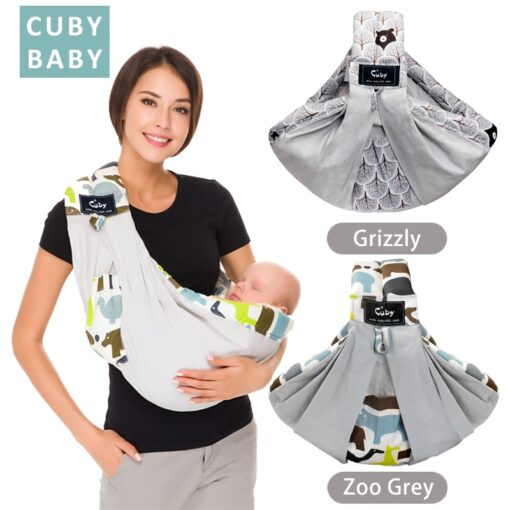 Free postage CUBY Baby Sling print front carry Baby Wrap Cotton wrap baby Soft Breastfeeding Cartoon