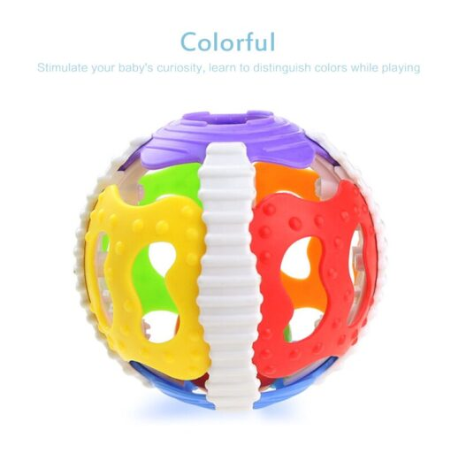 Funny Infant Rattle Toy 0 1 Year Old Fitness Ball Newborn Baby Hand Grasping Little Bell 4