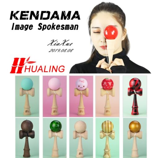 Funny Japan Traditional Kendama Ball Juggling Ball Wooden Toy For Children 1