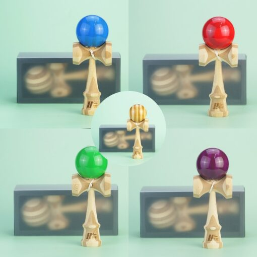 Funny Japan Traditional Kendama Ball Juggling Ball Wooden Toy For Children 4