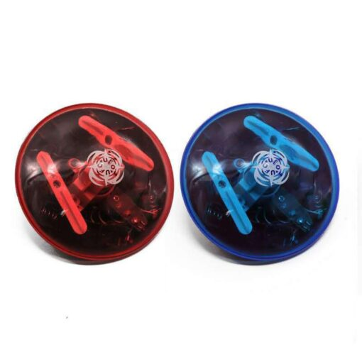 Funny Random Color UFO Music Gyro With LED Light Classic Flash Gyro Toy For Kids Flash 3