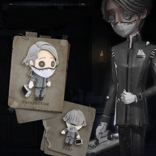 Game Identity V Survivor Aesop Carl Embalmer Plush Doll Toy Cosplay Plushie Toy Suit Dress Up 3