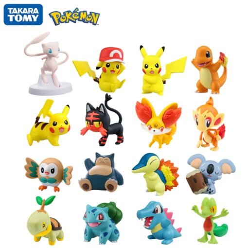Genuine Takara Tomy Pokemon Figures Collection Moncolle EX Pocket Monster Action Model Toys Dolls Kids Toy