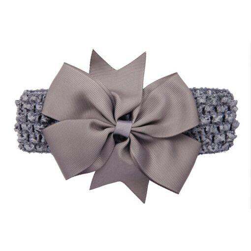 Girls Infant Hair Band Wave Headbands Bowknot Hair Accessories For Girls Haarband Baby Opaski Dla Niemowlaka 1