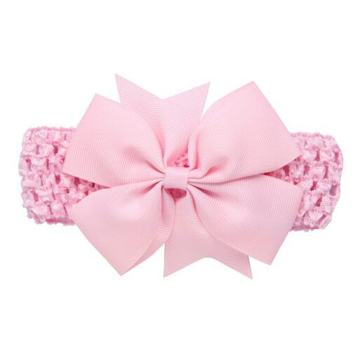 Girls Infant Hair Band Wave Headbands Bowknot Hair Accessories For Girls Haarband Baby Opaski Dla Niemowlaka 2