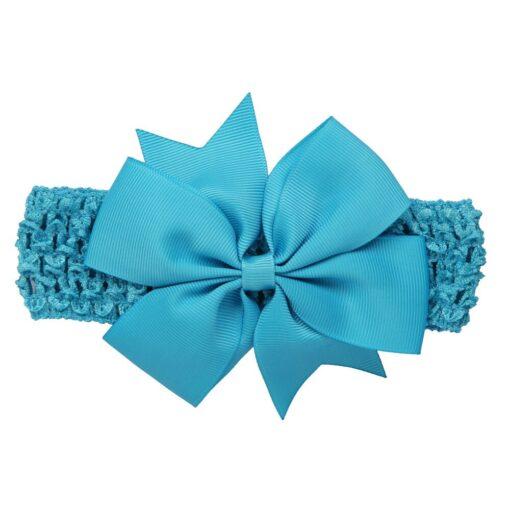 Girls Infant Hair Band Wave Headbands Bowknot Hair Accessories For Girls Haarband Baby Opaski Dla Niemowlaka 4