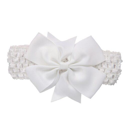 Girls Infant Hair Band Wave Headbands Bowknot Hair Accessories For Girls Haarband Baby Opaski Dla Niemowlaka 5