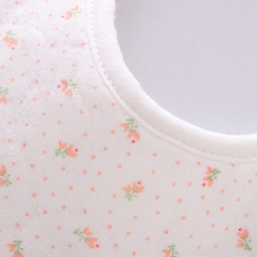 Good Quality 360 Degree Rotation Baby Girl Boy Cute Bibs Clear Cotton Star Shape Newborn Infant 10