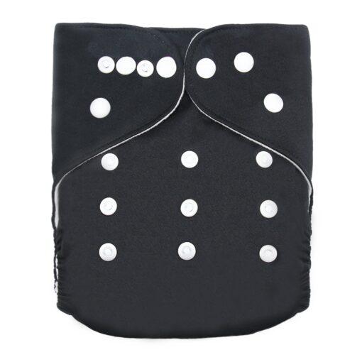 Goodbum Solid Color Washable Adjustable Cloth Diaper Pocket Nappy 2