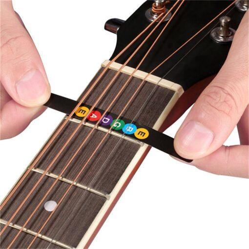 Guitar Neck Fretboard Note Map Fret Sticker Lables Decals Learn Beginner Fret Scale Fingerboard Electric Guitarra 17